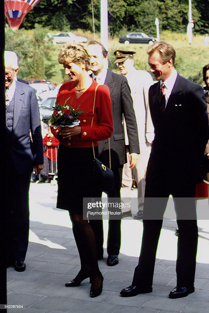 LADY DIANA IN LUXEMBURG