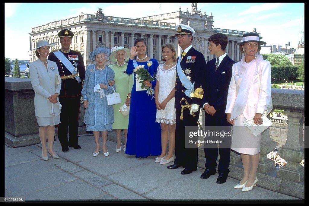 PRINCESS VICTORIA OF SWEDEN TURNS 18. : News Photo