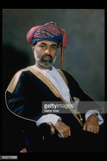 QABOOS BIN SAID, SULTAN OF OMAN
