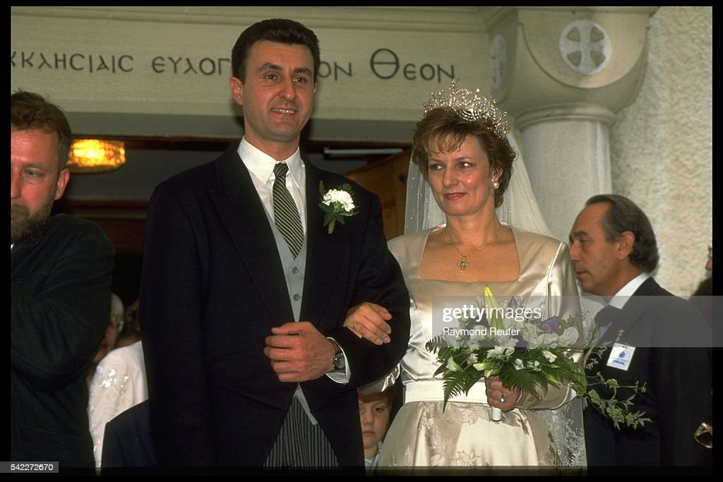 MARRIAGE OF THE FORMER KING OF RUMANIA : News Photo