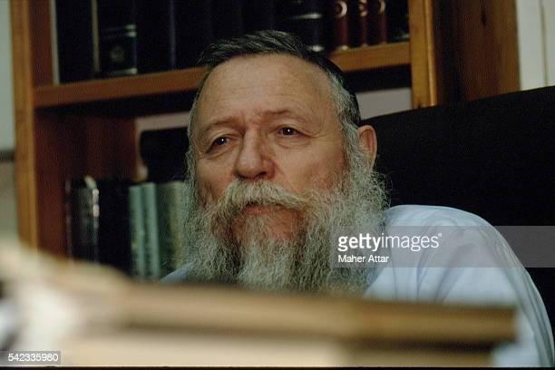 RABBI HAIM DRUKMAN, LEADER OF A YESHIVA