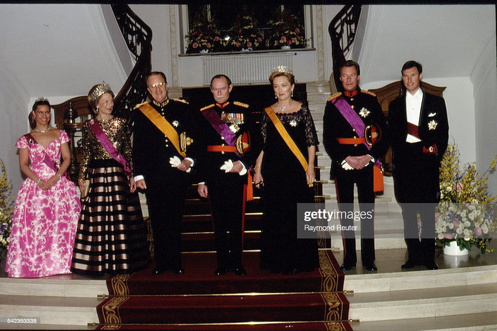 STATE VISIT OF BELGIAN ROYALTY TO LUXEMBOURG : News Photo