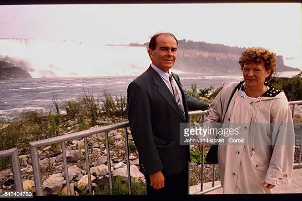 GEORGES MARCHAIS AND HIS WIFE VISIT THE USA