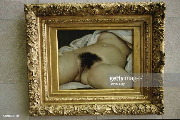 WORLD' BY COURBET AT MUSEE D'ORSAY