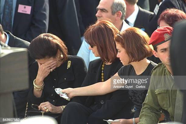 FUNERAL OF ITZHAK RABIN IN JERUSALEM