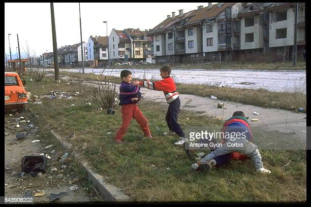 DAILY LIFE IN SARAJEVO AFTER THE CEASEFIRE