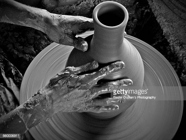 terracotta pottery - pakistani culture stock photos and pictures