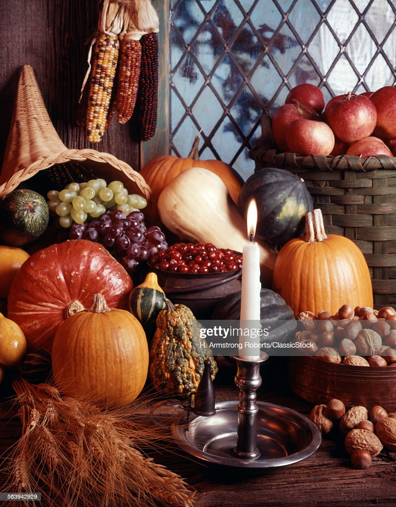 AUTUMN HARVEST STILL LIFE... : News Photo