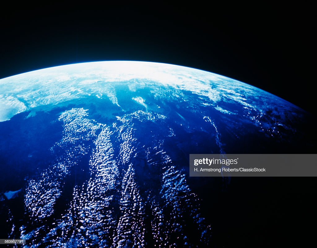 EARTH FROM OUTER SPACE... : Stock Photo