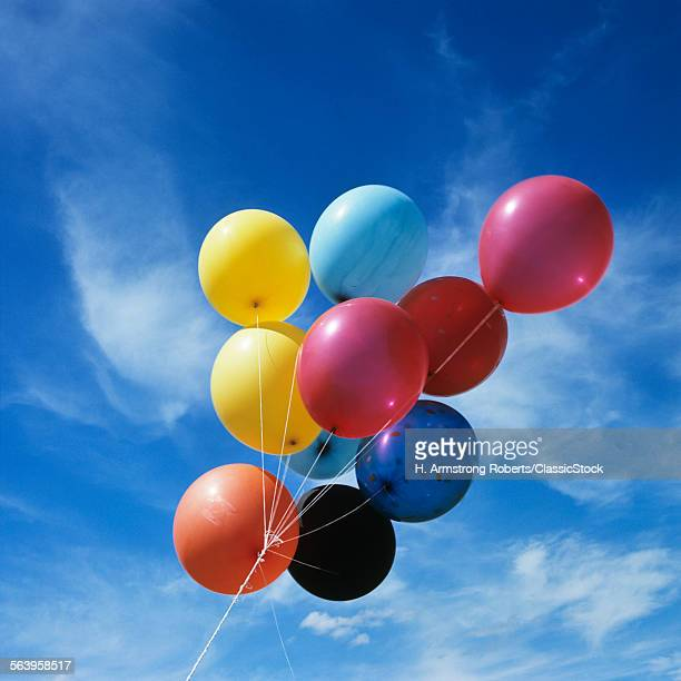 MULTI COLORED BALLOONS...