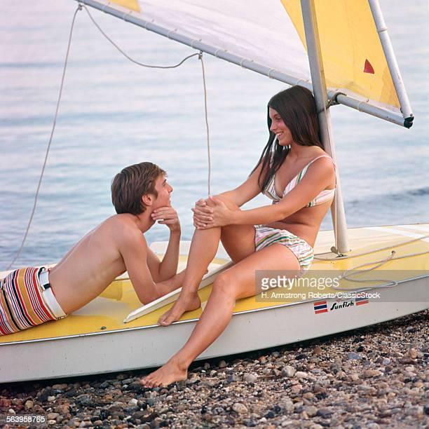 TEENAGE BOY AND GIRL...