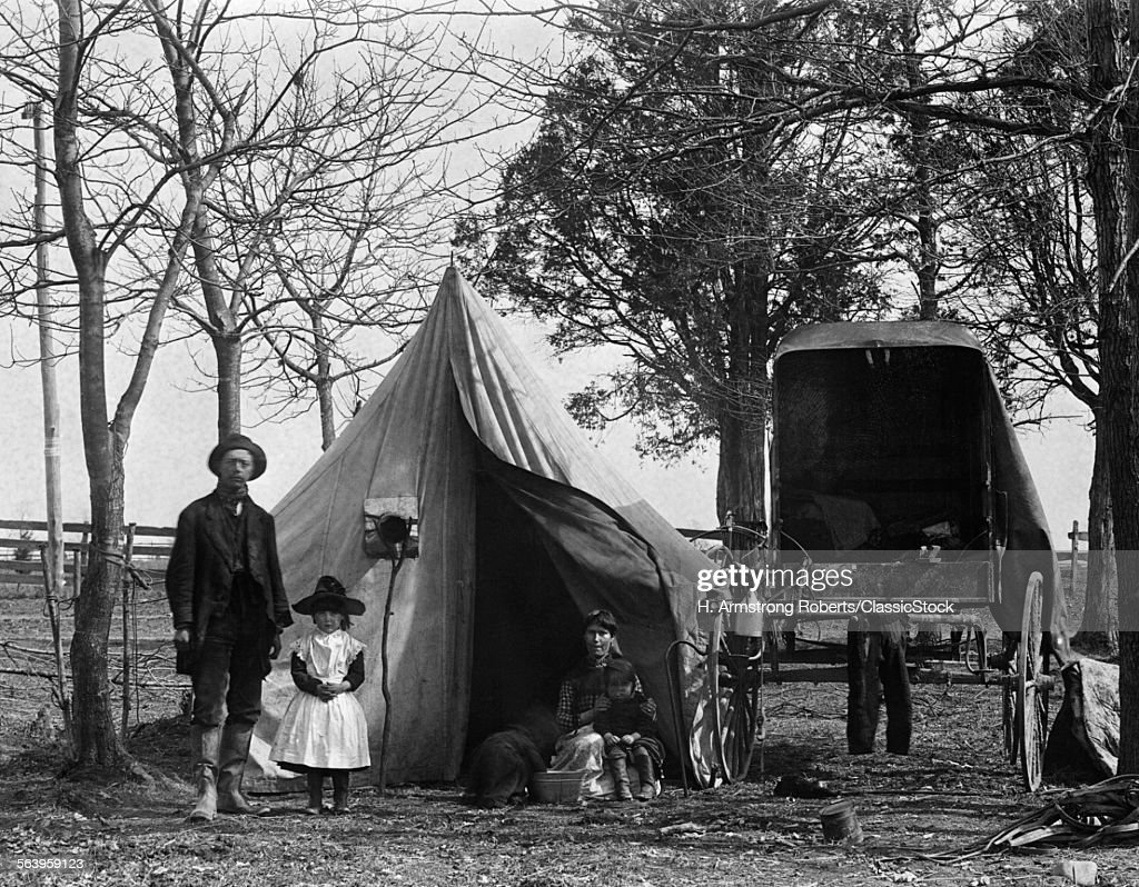 19th Century Gypsy Camp Stock Photo Getty Images