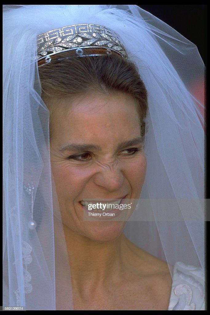 WEDDING OF INFANTA ELENA OF SPAIN IN SEVILLE : Fotografía de noticias