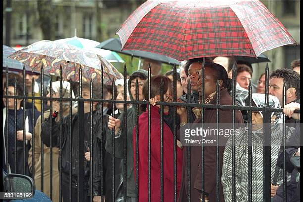 THE FUNERAL OF JACKIE SARDOU