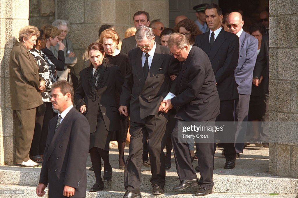 FUNERAL OF HENRI PAUL IN BRITTANY : News Photo