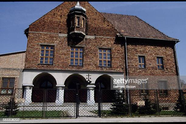THE CARMELITE MONASTERY AT AUSCHWITZ AND THE CONCENTRATION CAMP