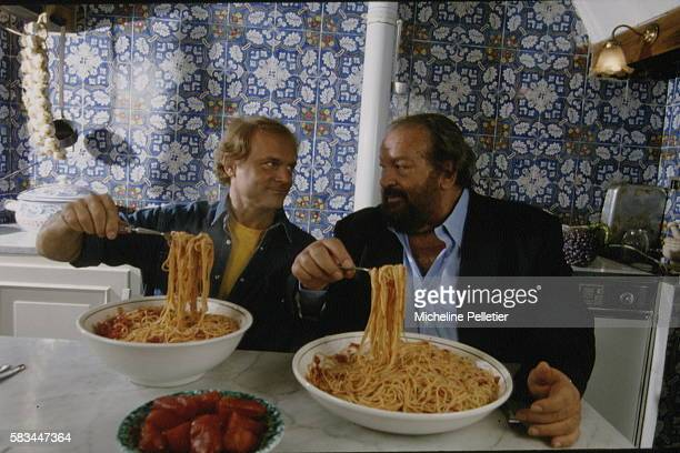 TERENCE HILL AND BUD SPENCER IN ROME
