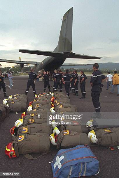 ARRIVAL OF FRENCH AID IN CENTRAL AMERICA