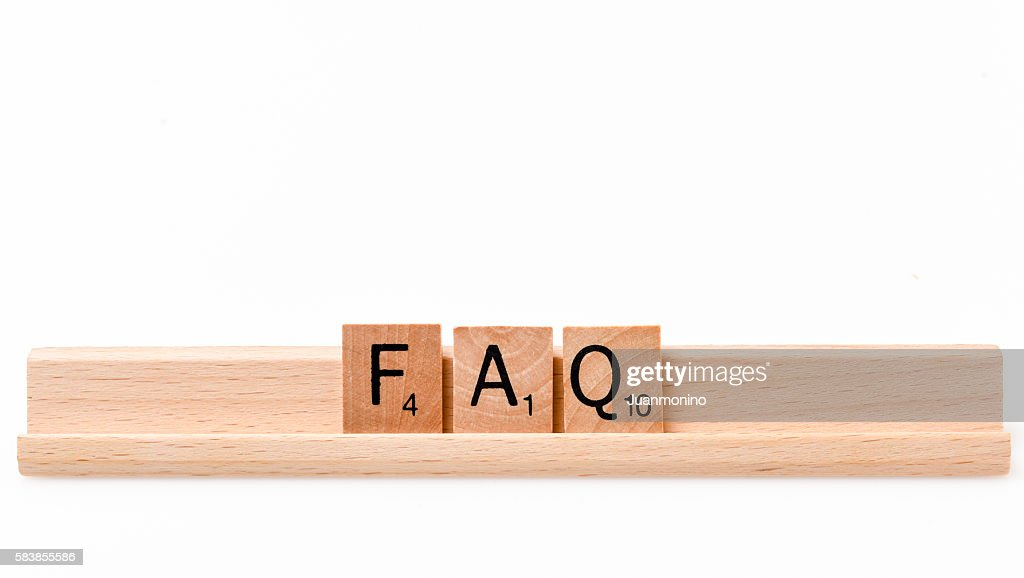 FAQ : Stock Photo