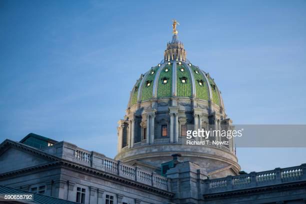 state capitol building harrisburg pennsylvania usa - harrisburg pennsylvania stock pictures, royalty-free photos & images