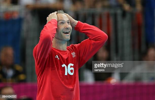 Thierry OMEYER Olympische Sommerspiele 2012 London Handball Männer Finale Schweden Frankreich 2122 Basketball Arena Olympic Summer Games 2012 London...