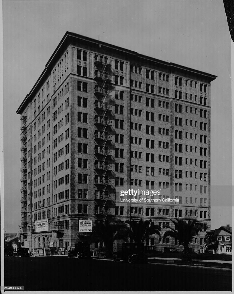 Gaylord Apartments, Wilshire Blvd., Los Angeles, [s.d.]