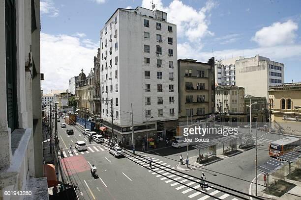 edificios residenciales / rua chile / salvador - rua fotografías e imágenes de stock