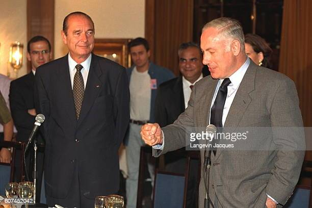 OFFICIAL VISIT OF JACQUES CHIRAC TO ISRAEL