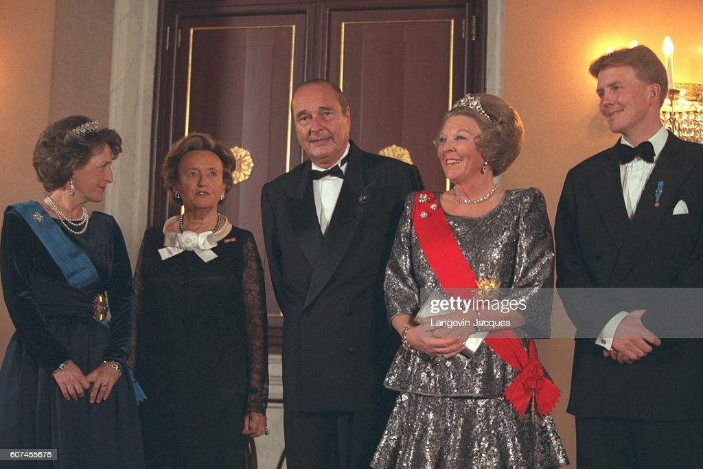 JACQUES CHIRAC'S VISIT TO THE NETHERLANDS : News Photo