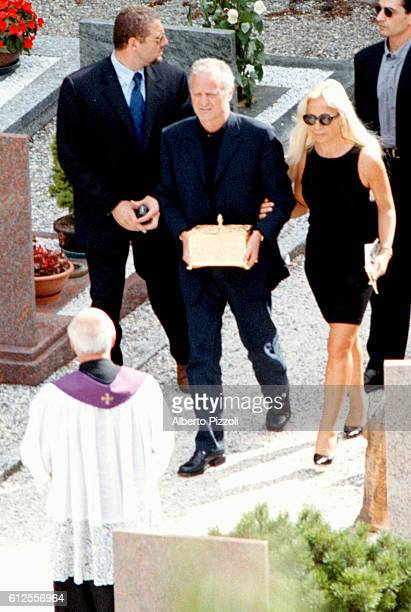 BURIAL OF G.VERSACE'S ASHES, MOLTRASIO