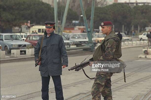 THE MULTINATIONAL FORCE IS DEPLOYED IN ALBANIA