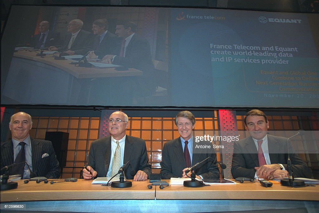 Trade Agreement Between France Telecom And Equant News Photo Getty