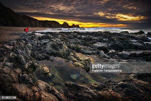 RED JACKET PHOTOGRAPHER AT BERMAGUI