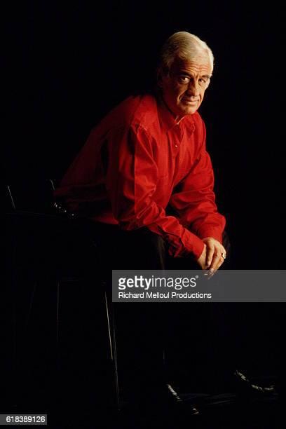 STUDIO PHOTO OF ACTOR JEAN-PAUL BELMONDO