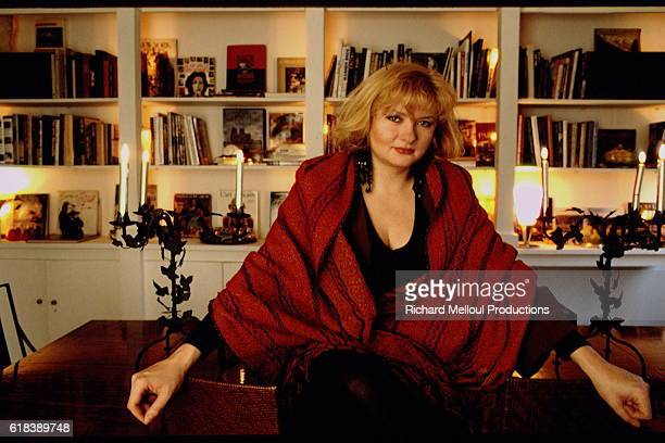 CATHERINE JACOB AT HER HOME IN PARIS