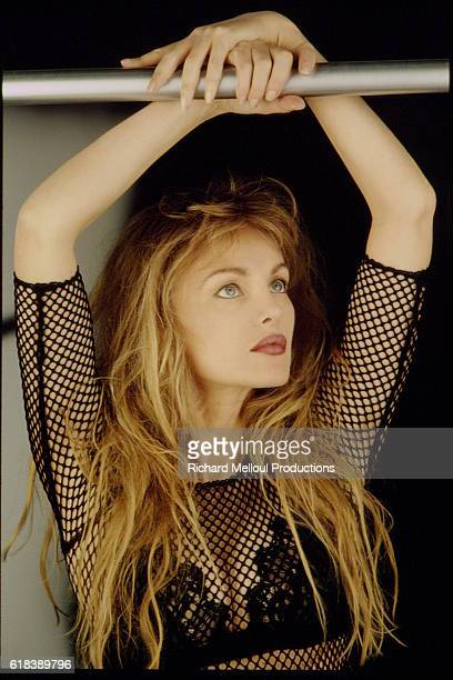 THE ACTRESS ARIELLE DOMBASLE