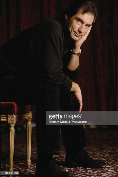 THE BRITISH ACTOR TIMOTHY DALTON