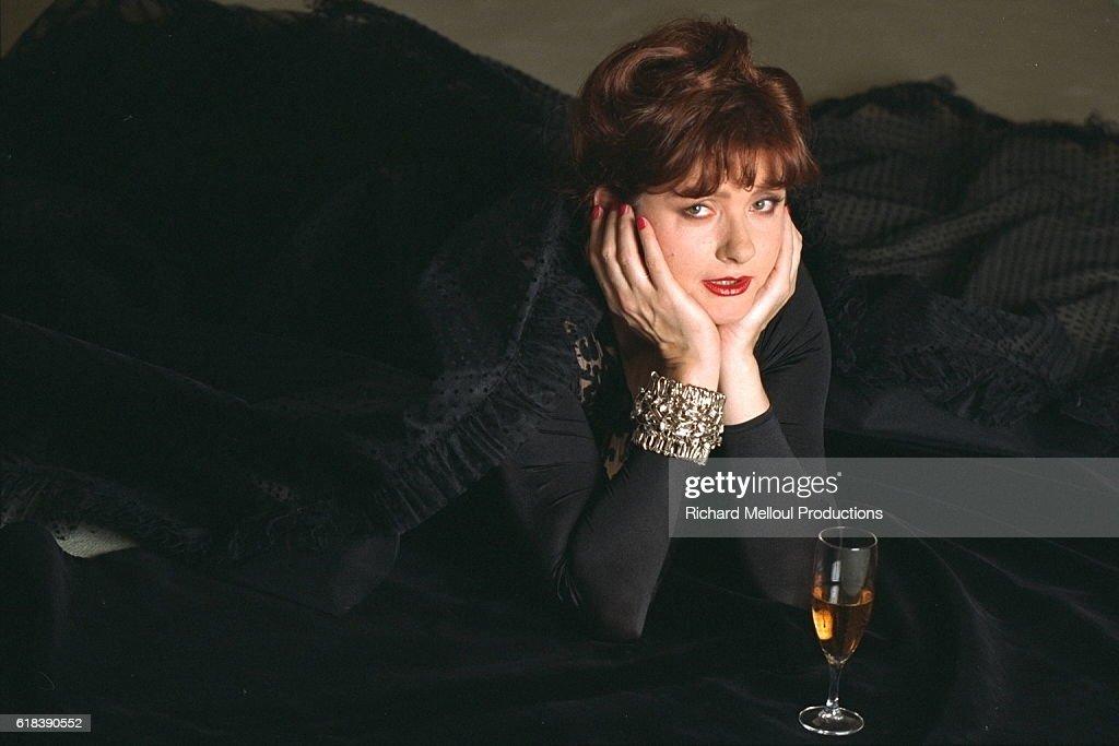 THE ACTRESS CATHERINE JACOB : Photo d'actualité