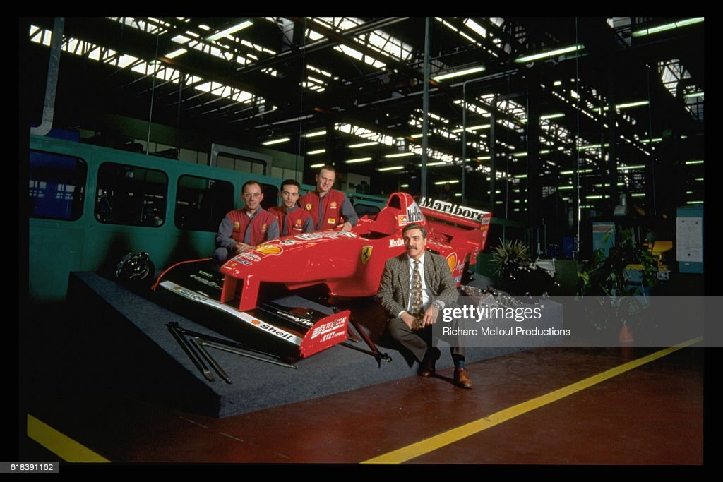 FERRARI FACTORY + JEAN TODT IN CLOSE UP : Photo d'actualité