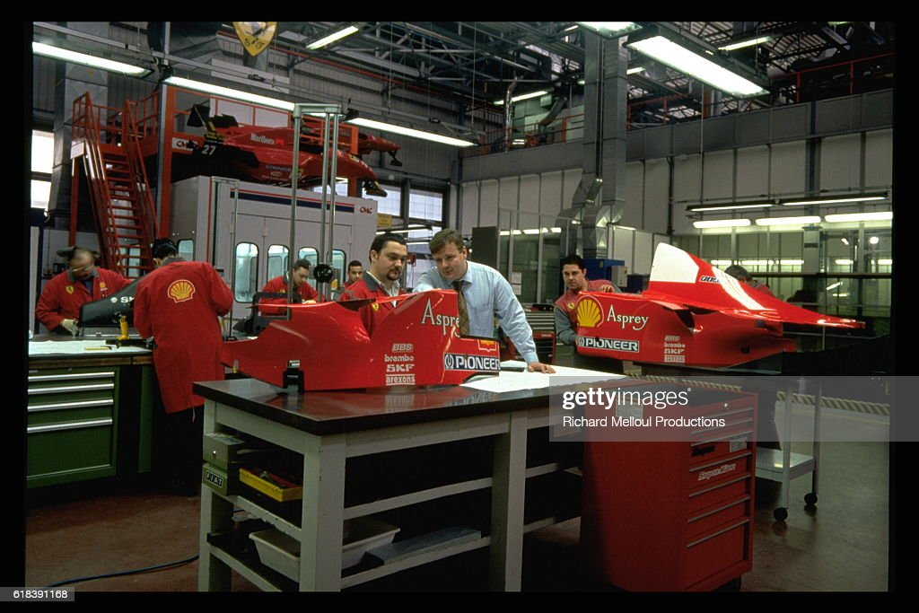 FERRARI FACTORY + JEAN TODT IN CLOSE UP : Nachrichtenfoto