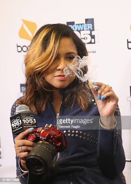 Angela Yee attends Power 1051's Powerhouse 2016 at Barclays Center on October 27 2016 in New York City