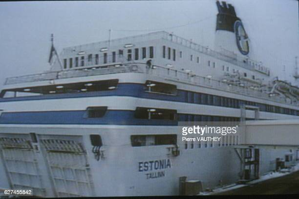 TELEVISED IMAGES OF THE ESTONIA DISASTER