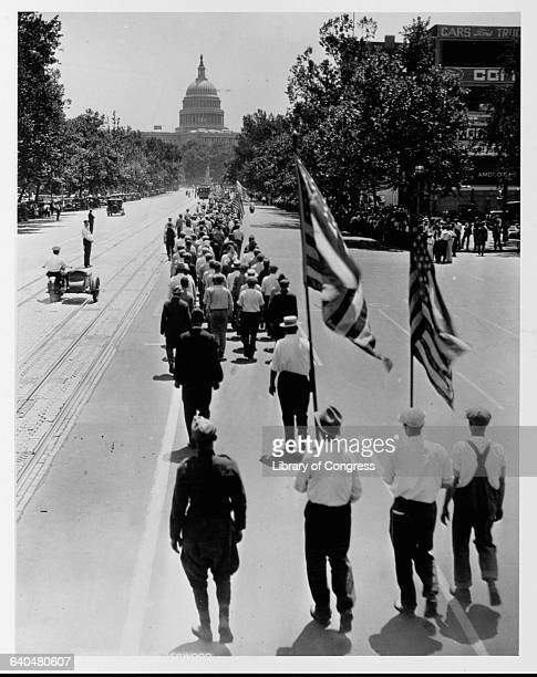 AVE WASHINGTON D C JULY 1932 PHOTO LOT 3739