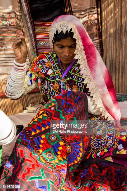 sindhi culture - pakistani culture stock photos and pictures