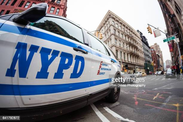 nypd - new york city police department stock pictures, royalty-free photos & images