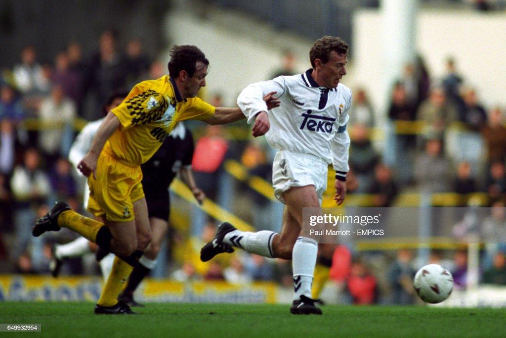 Soccer - Fiorucci Cup - Tottenham Hotspur v Real Madrid - White Hart Lane : News Photo