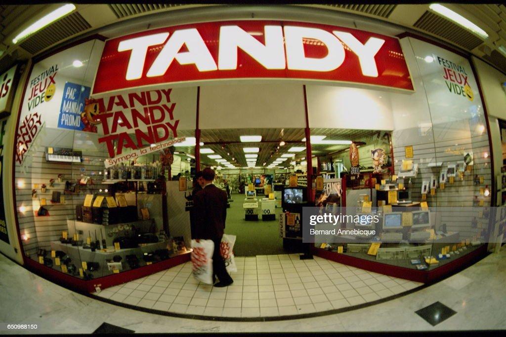 TANDY SHOP Photo d'actualité - Getty Images