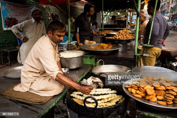 food stalls of burns road - mithai stock pictures, royalty-free photos & images