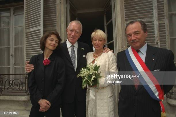 MARRIAGE OF MAX VON SYDOW AND CATHERINE BRELET