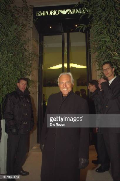 OPENING OF THE ARMANI BOUTIQUE IN PARIS